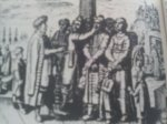 Christians being sold into slavery during the Ottoman period