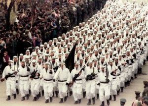 Bosnian Islamic fighters -
