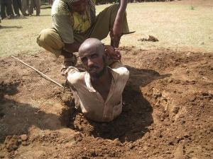 Islamic Sharia law in Somalia supports stoning to death, cross amputation, killing converts to Christianity and other barbaric ways.