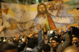Christians suffer persecution in Egypt.